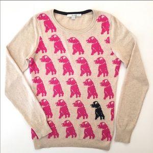 Rare Boden crewneck dog sweater EUC
